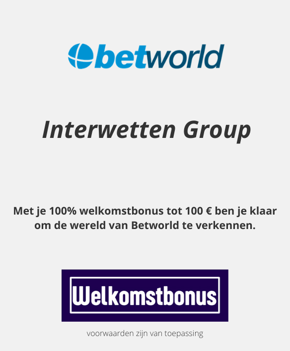 betworld welkomstbonus